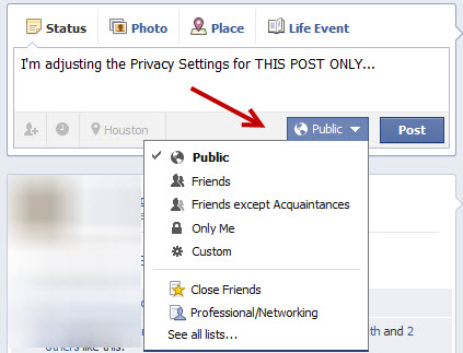 how to find privacy settings on facebook